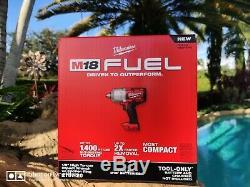 Milwaukee 2767-20 M18 Fuel 1/2 Gun Clé À Chocs D'entraînement Bonus