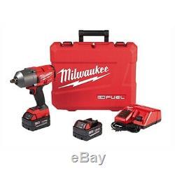 Milwaukee 2767-22 Carburant Couple Élevé 1/2 Clé À Chocs Gun Avec Le Kit De Friction Anneau
