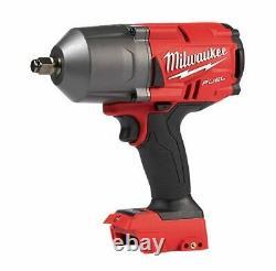 Milwaukee 2pc Impact Wrench & Grease Gun Inc 2 X 5ah Batterie Sac M18fpp2ai-502