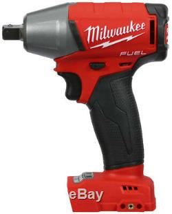 Milwaukee Clé À Chocs 1/2 Po Sans Pinceau M18, Pistolet Dynamométrique Sans Fil Compact De 18 Volts
