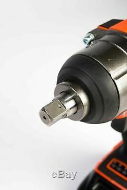 Mondis 20v 1/2 Clé À Chocs Sans Fil Batterie Rattle Prises Gun Au Lithium-ion
