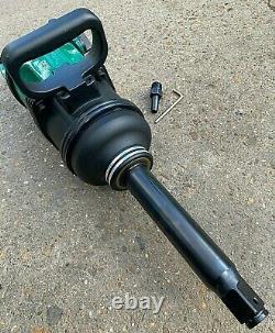 New Huaqi Heavy Duty Industrial 1 Drive Air Impact Wrench Gun 5200nm 3000rpm Uk