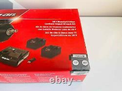 Nouveau Snap On 18 V Monsterlithium Cordless Gun Metal Impact Wrench Kit Ctu9075gm