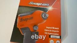 Nouveau Snap Sur 3/8 Orange Air Impact Wrench Gun Dans La Boîte