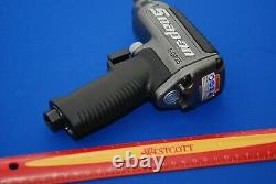 Nouveau Snap-on 3/8 Gun Metal Grey Super Duty Air Impact Wrench Withboot & Muffler