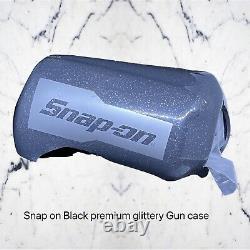 Nouveau Snap-on 3/8 Super Duty Stubby Air Impact Clé #pt338gm Gun Metal Rare