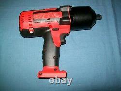 Nouveau Snap-on Lithium Ion Ct8850odb 18v 18 Volt Sans Fil 1/2 Impact Wrench / Gun