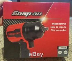 Nouveau Sur Snap 1/2 Drive Air Impact Wrench Pt850 Rare Metal Gun Withboot