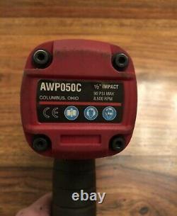 Outils Mac Awp050c Titanium 1/2 Drive Compact Air Impact Wrench Gun 3 Speed