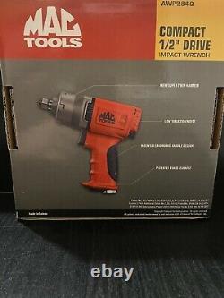 Outils Mac Awp284q 1/2 Drive Compact Air Impact Wrench Gun 3 Speed Twin Hammer