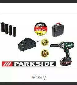 Parkside Garage Clé Antichoc Sans Fil 20v Facture De Garantie De 3 Ans