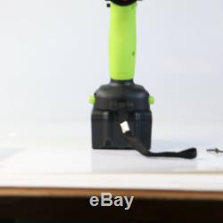 Pistolet À Clé À Choc Sans Fil 21v 1/2 Boîtier De La Batterie 340nm Li-ion Avec Batterie