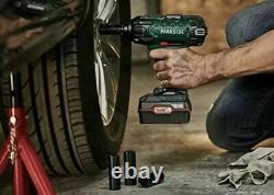 Pistolet Sans Fil Parkside Impact Pistolet Sans Fil 2x Batteries 4ah + Chargeur + Prises 20v