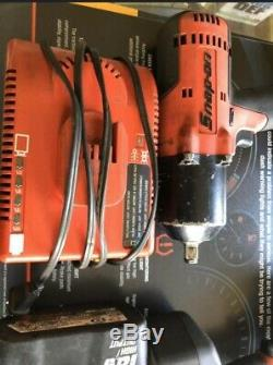 Pression Sur Les Outils 1/2 Visseuse À Percussion Gun Kit 4batteries, Chargeur, 3/8 Gun Inclus