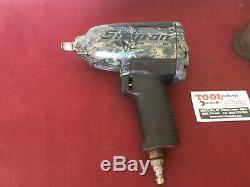 Rare Camouflage Snap-on Mg725 1/2 Impact Gun Air Pneumatique Clé