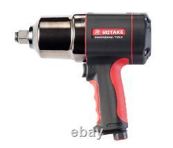 Rotake 3/4'' Drive Air Impact Gun Wrench 996ft/lbs Couple 1350nm