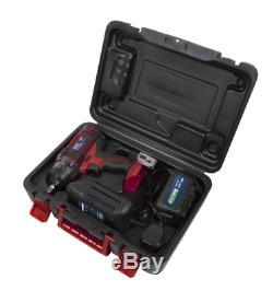 Sealey Cp400li Clé À Chocs / Gun 18v1 / 2sq & Sx031 Jantes En Alliage Paquet Sockets