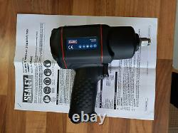 Sealey Sa6007 1/2 Sq Air Impact Wrench/socket Gun 1789 Nm