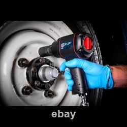 Sealey Sa6007 1/2 Sq Dr Air Impact Wrench/socket Gun/ratchet Dr (1789 Nm)