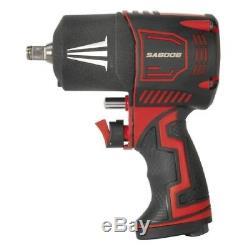 Sealey Tools Sa6006 Pistolet À Clé À Chocs À Air Comprimé Avec Marteau Double Entraînement De 1/2 Po²