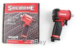 Sidchrome 1/2 Mini Impact Wrench Outils De Qualité Du Commerce Compact Hd Spécial Des Armes À Feu
