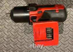 Snap On 18v 1/2 Impact Wrench Gun Ct8850 Monster Lithium Très Puissant Cteu8850
