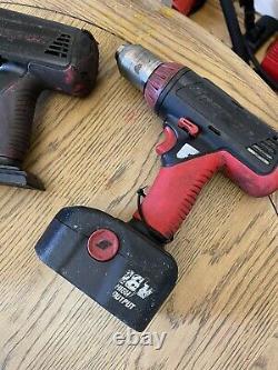 Snap On 18v Gun De Clé D'impact, Drill Avec Batterie Et Chargeur 1