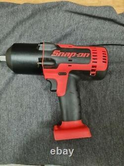 Snap On 1/2 18v Cordless Impact Wrench Gun Monster Lithium Cteu8850 Body Seulement