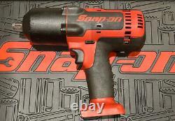 Snap On 1/2 18v Gun D'impact Ct8850 Cteu8850 Monsterlithium Red
