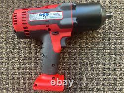 Snap On 1/2 18v Impact Wrench Gun Cteu8850 Ct8850 Monsterlithium À Peine Utilisé