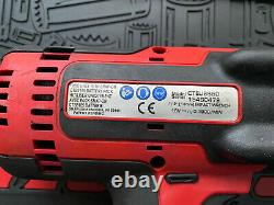 Snap On 1/2 18v Impact Wrench Gun Cteu8850a Ct8850 Monsterlithium Red