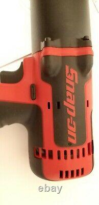 Snap On 1/2 Drive 18v Lithium-ion Impact Gun Wrench In Red. Ctu8850a Ct8850