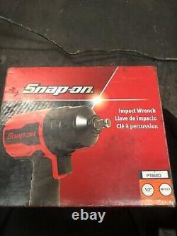 Snap On 1/2 Drive Gun Metal Air Impact Wrench Pt850gm