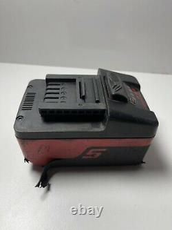 Snap On 3/8 Drive 18v Lithium Cordless Impact Wrench Gun Ct8810, 2 Batteries
