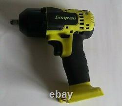 Snap On 3/8 Drive 18v Lithium-ion Impact Gun Wrench Salut Vis. Cteu8810bhv Ct8810