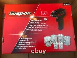 Snap On 3/8 Drive Impact Gun Air Wrench Special Limited Adition Avec Du Verre Libre
