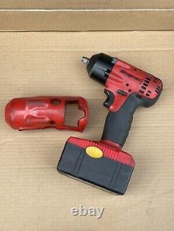 Snap On Ct4418 3/8 Drive 18v Clé D'impact Cordless Ni Cad Outil Avec Batterie