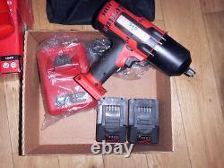 Snap On Cteu8850 1/2 Clé À Chocs Nut Runner Impact Gun Batterie