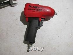 Snap On Mg325 Mg 325 Rouge 3/8 Drive Impact Air Wrench Gun Fonctionne Très Bien