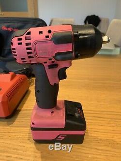 Snap On Pink 3/8 D'impact D'entraînement Gun Clé Dernier Modèle Cteu8810b Pk