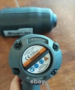 Snap On Pt850gm Gun Metal Gray 1/2 Drive Air Wrench Gun Pt850, Pt 850