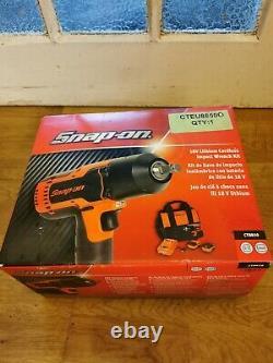 Snap On Snapon 18v Impact Wrench Gun Set 1/2 3/8