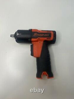 Snap On Tools 14.4v Microlithium Sans Fil 3/8 Corps De La Clé D'impact Cteu761