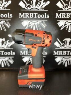 Snap On Tools Cteu8810bo 3/8 Drive Cordless 18v LI Ion Kit De Clé D'impact