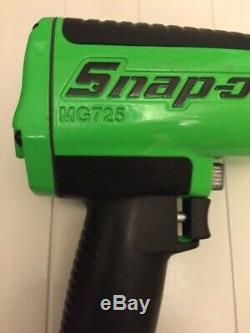 Snap On Tools Mg725 1/2 Air Drive Clé À Chocs Buzz Gun Limitée Neon Green New