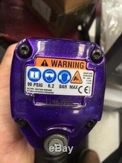 Snap On Tools Mg725 1/2 Lecteur Clé À Chocs Air Buzz Gun Limitée Violet Ace