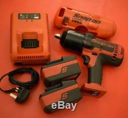 Snap On Tools Mint 18v 1/2 Lecteur Monsterlithium Gun Sans Fil Clé À Chocs (16)