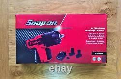 Snap Sur 14,4v 3/8 Impact Wrench Gun Orange, X1 Batterie, Botte & Chargeur Ct761