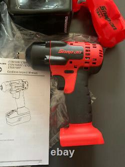 Snap Sur 18v Lithium Sans Fil 1/2 Pouces Gun Clé D'impact Cteu8815b Brand New