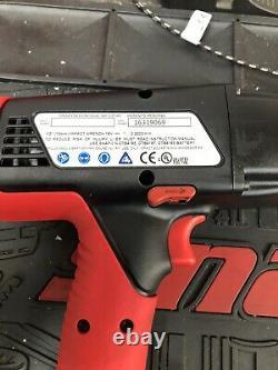 Snap Sur 18v Pistolet D'impact Ct6850 Ni-cad 1/2 Corps Seulement Chargeur De Batteries
